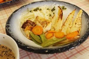 筍と鯛の春風麺