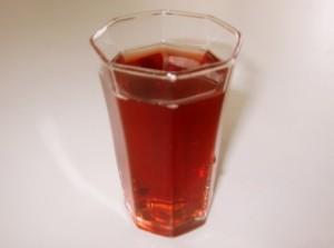 赤・青しそジュース