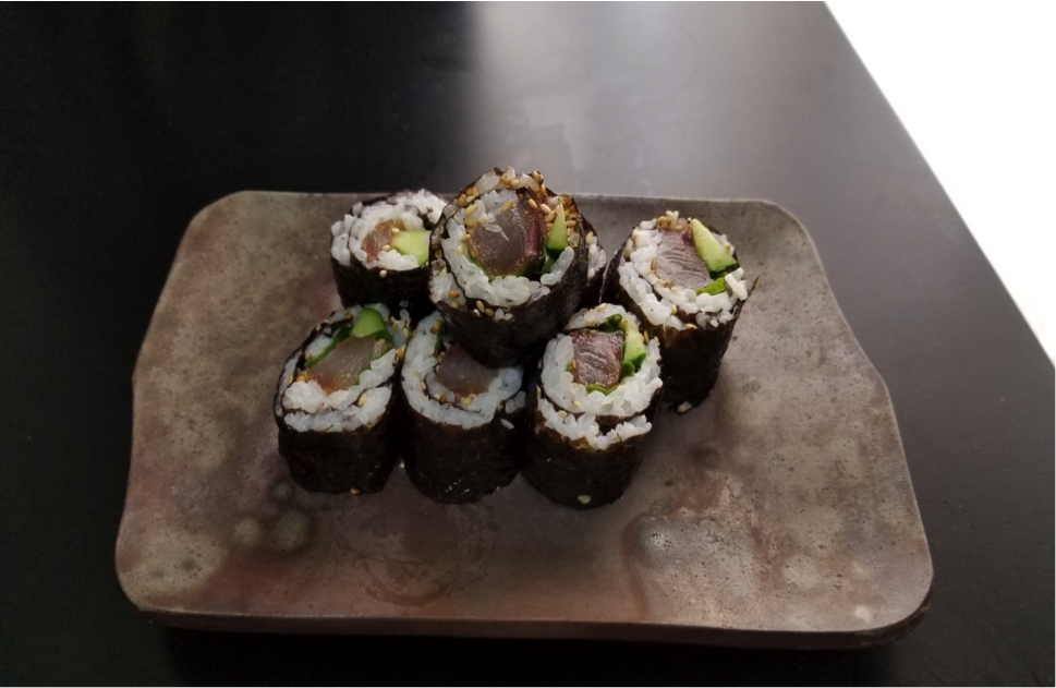 梅肉巻き寿司