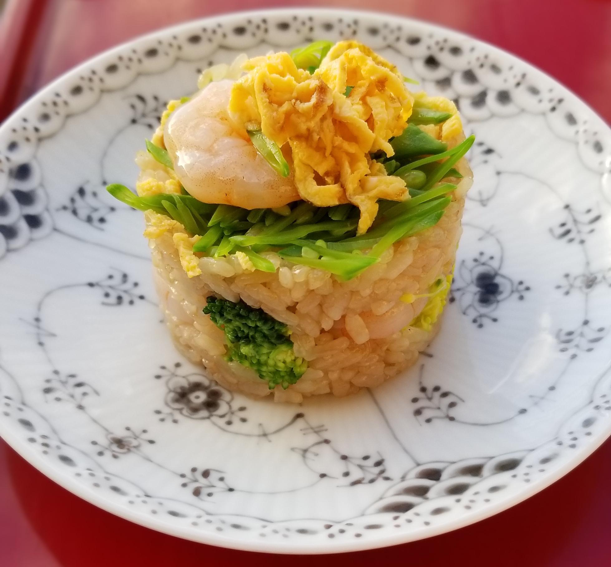 赤酢のちらし寿司